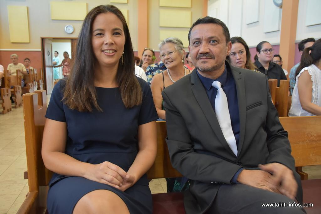 Hinatea Buillard et Eric Foual, notaires associés au sein du nouvel office créé en résidence à Pirae.