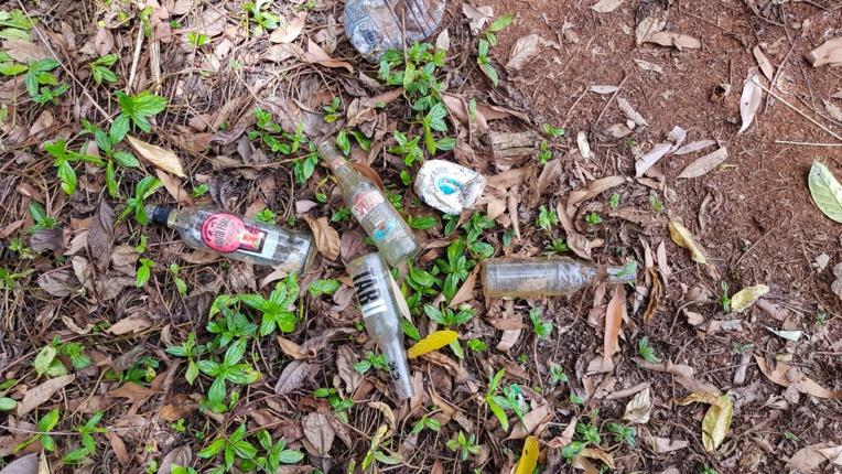 La commune de Bora Bora fiu de voir des dépôts de déchets sauvages