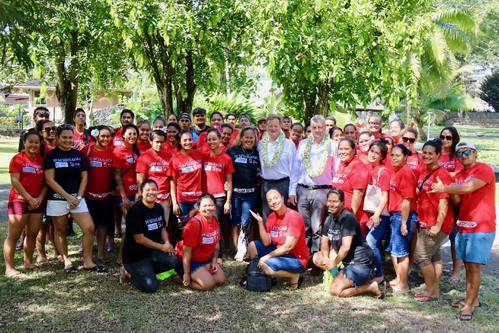 45 jeunes en service civique en formation au haut-commissariat