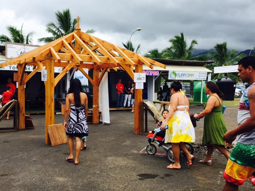 La foire sera ouverte du 11 au 14 octobre. Crédit DB Tahiti.