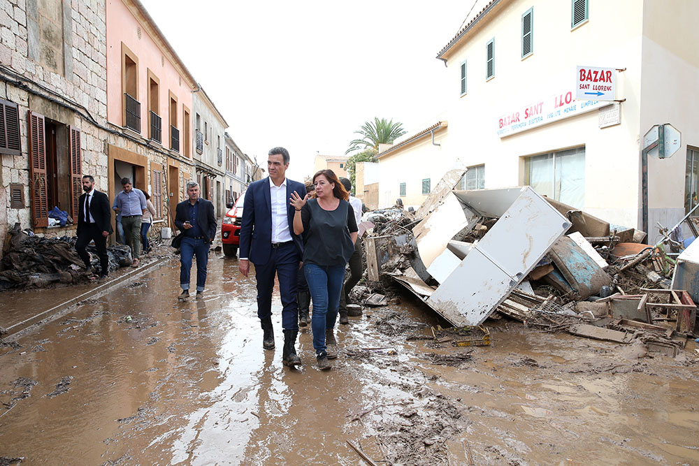 Inondations à Majorque: au moins neuf morts dont deux Britanniques