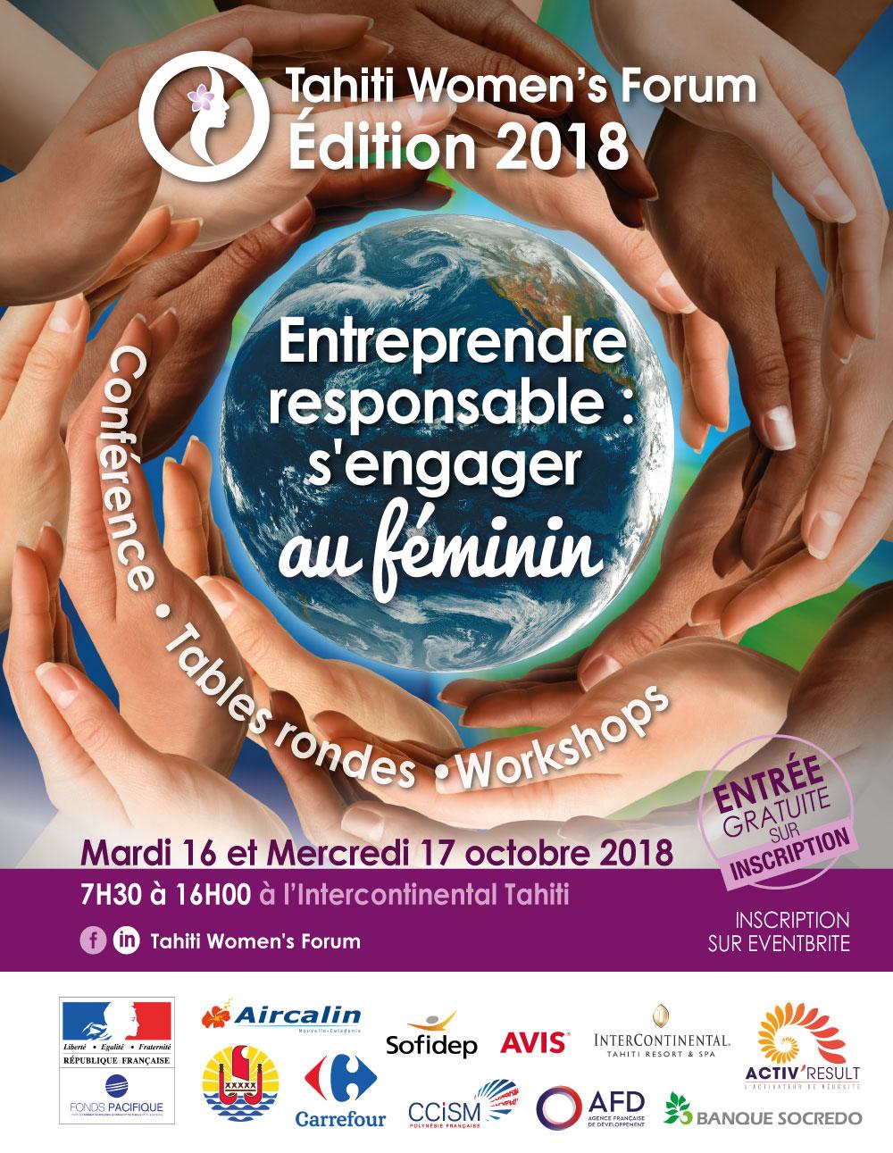 La 2e édition du Tahiti Women's Forum aura lieu les 16 et 17 octobre
