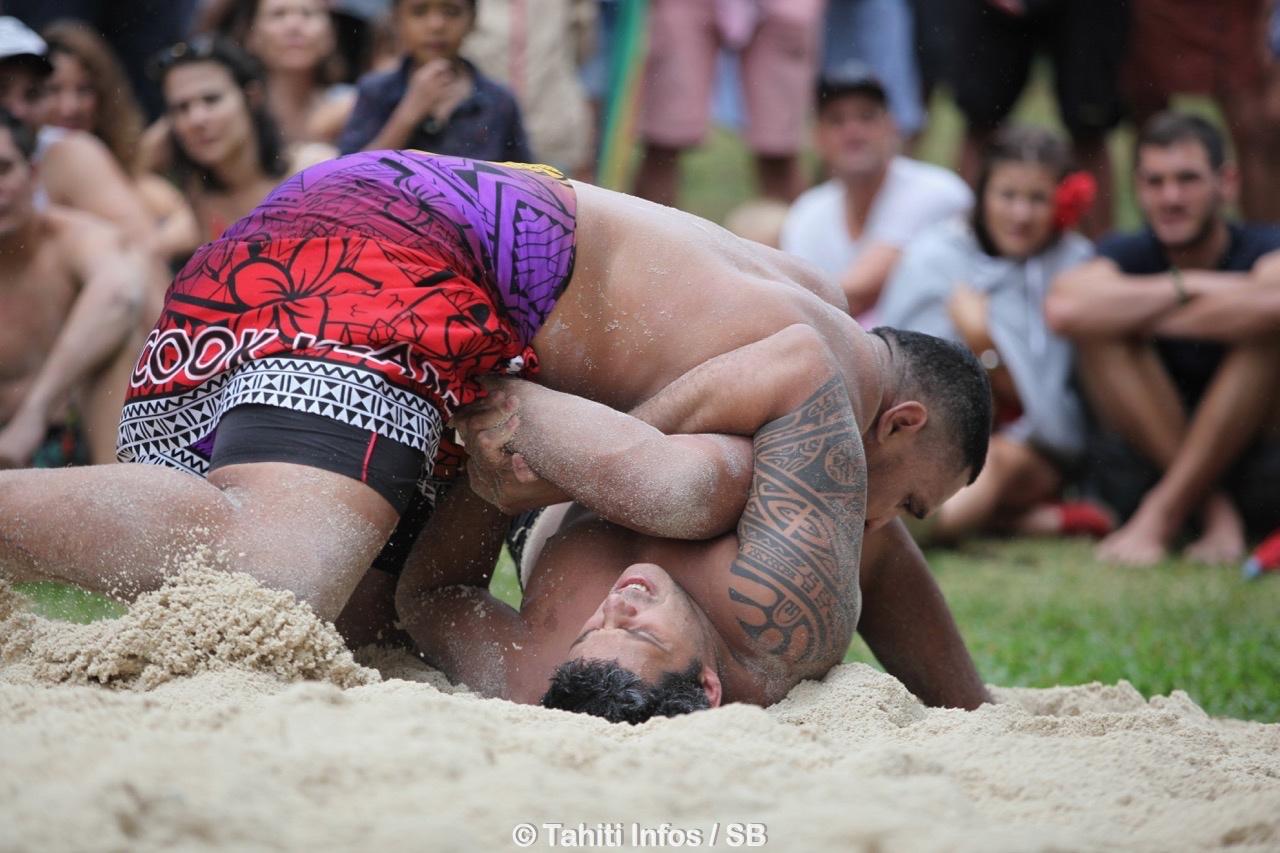 Anapa lors de son combat contre Loïc Tautu