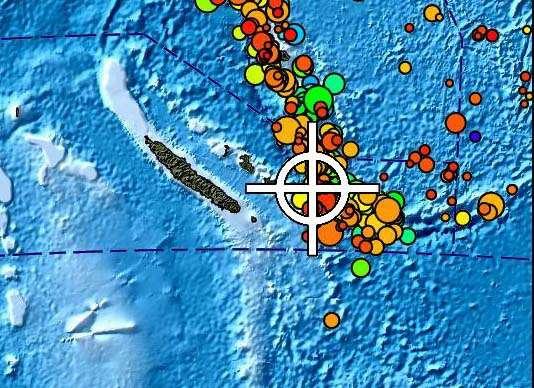 Nouvelle-Calédonie: Séisme de magnitude 6,5 au sud-est des Loyauté, le risque de tsunami écarté