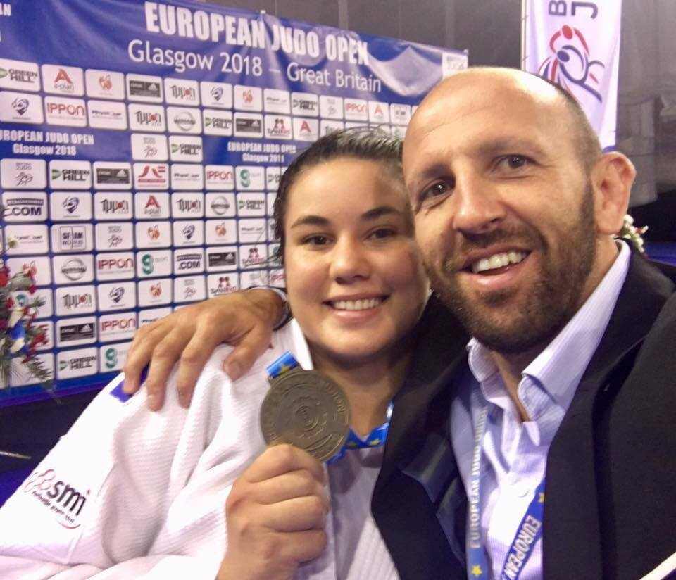 Rauhiti Vernaudon a remporté l''European Judo Open
