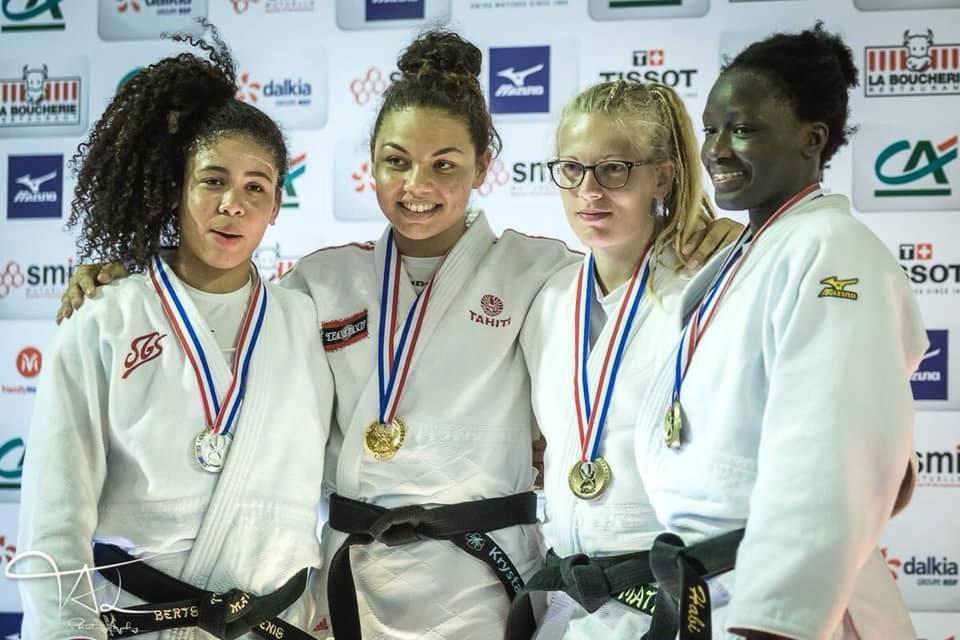 Krystal Garcia, championne de France sénior division 2