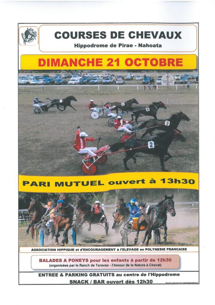 Dix chevaux au départ de la course de trot