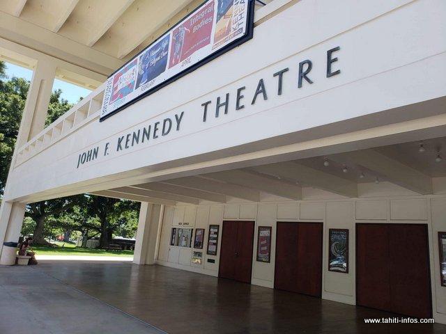 La compétition de 'ori tahiti se tiendra dans le grand théâtre de l'université d'Hawaii, dimanche.