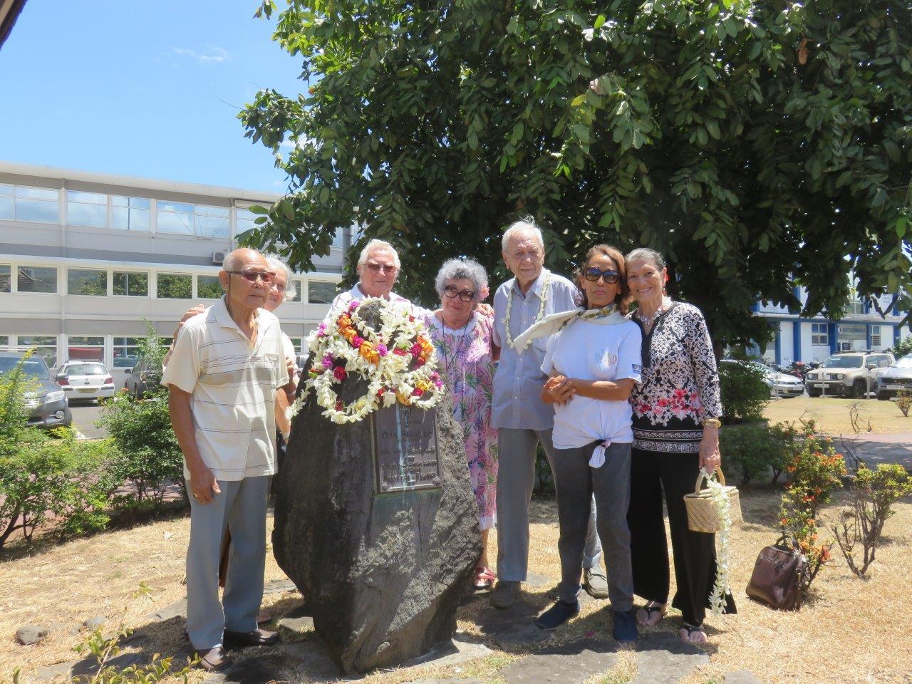 Comme tous les ans, les anciens du monde de l'aéronautique de Tahiti se sont réunis pour rendre hommage à la mémoire de Paul Bernard.