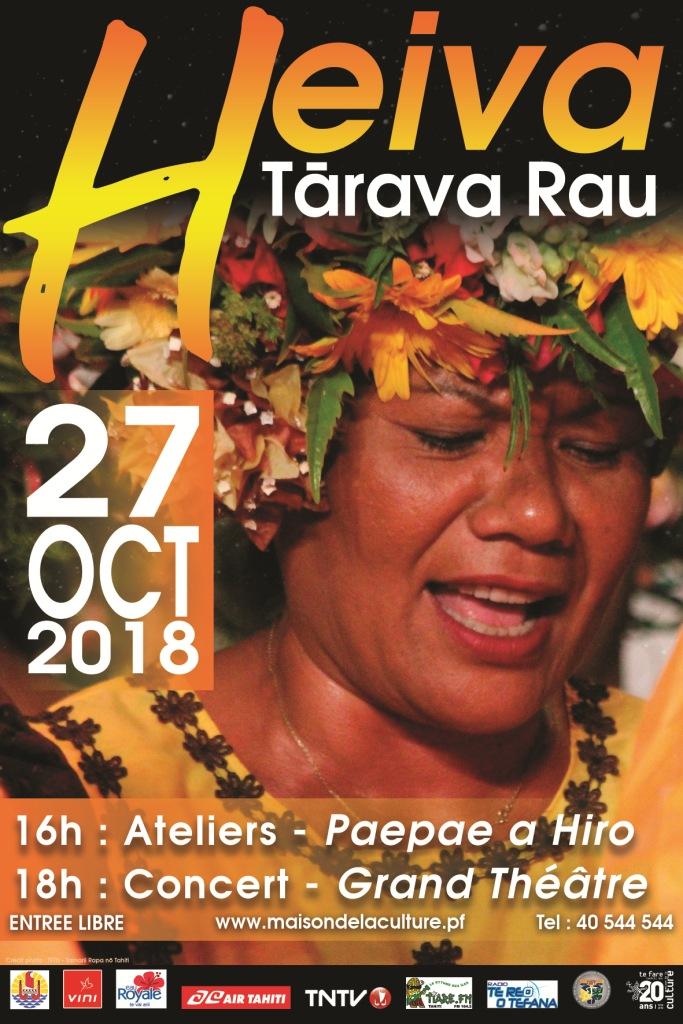 Heiva Tarava : Les pupu himene ont rendez-vous au grand théâtre