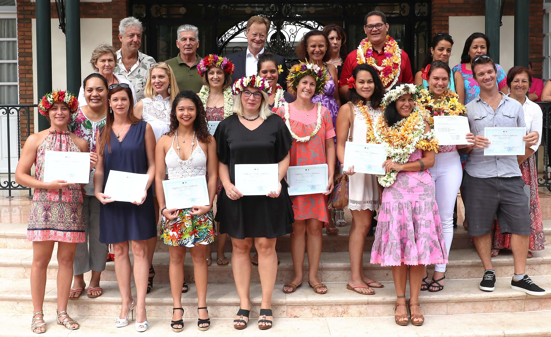 Dix-sept infirmiers ont reçu leur diplôme d'Etat