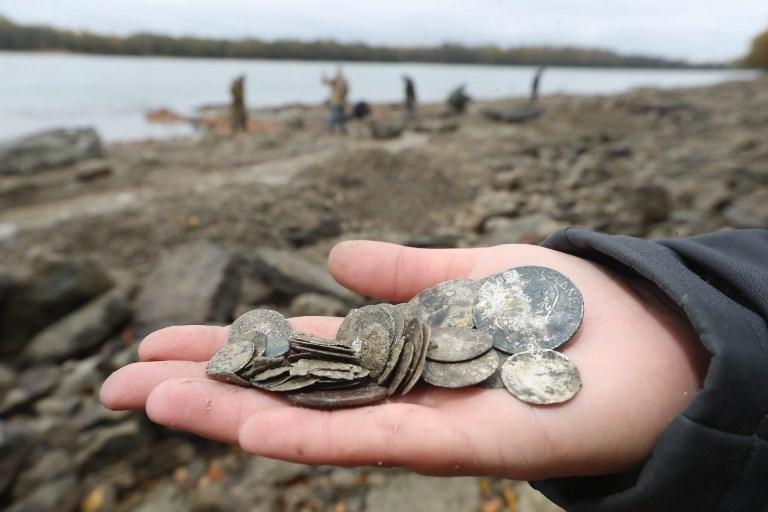 Hongrie: un trésor du 18e siècle trouvé dans le Danube asséché