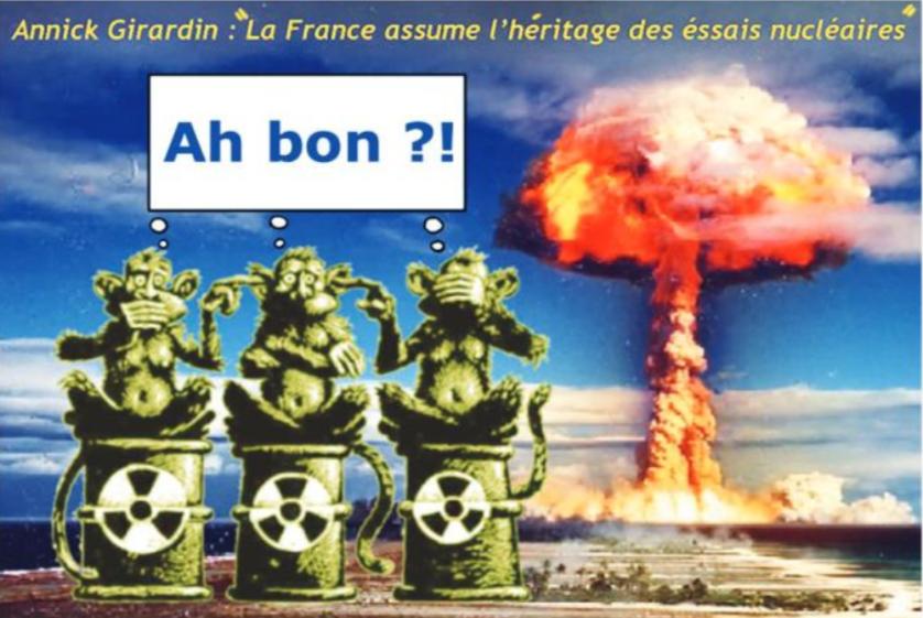 """"""" Annick Girardin et le nucléaire """" par Munoz"""
