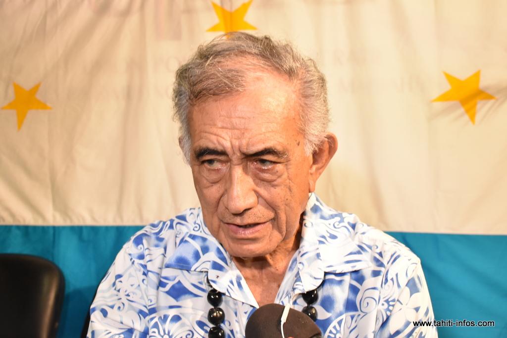 Inéligibilité : Oscar Temaru perd son siège à l'Assemblée