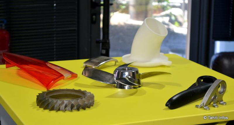 Tous ces objets ont été créés par des imprimantes 3D