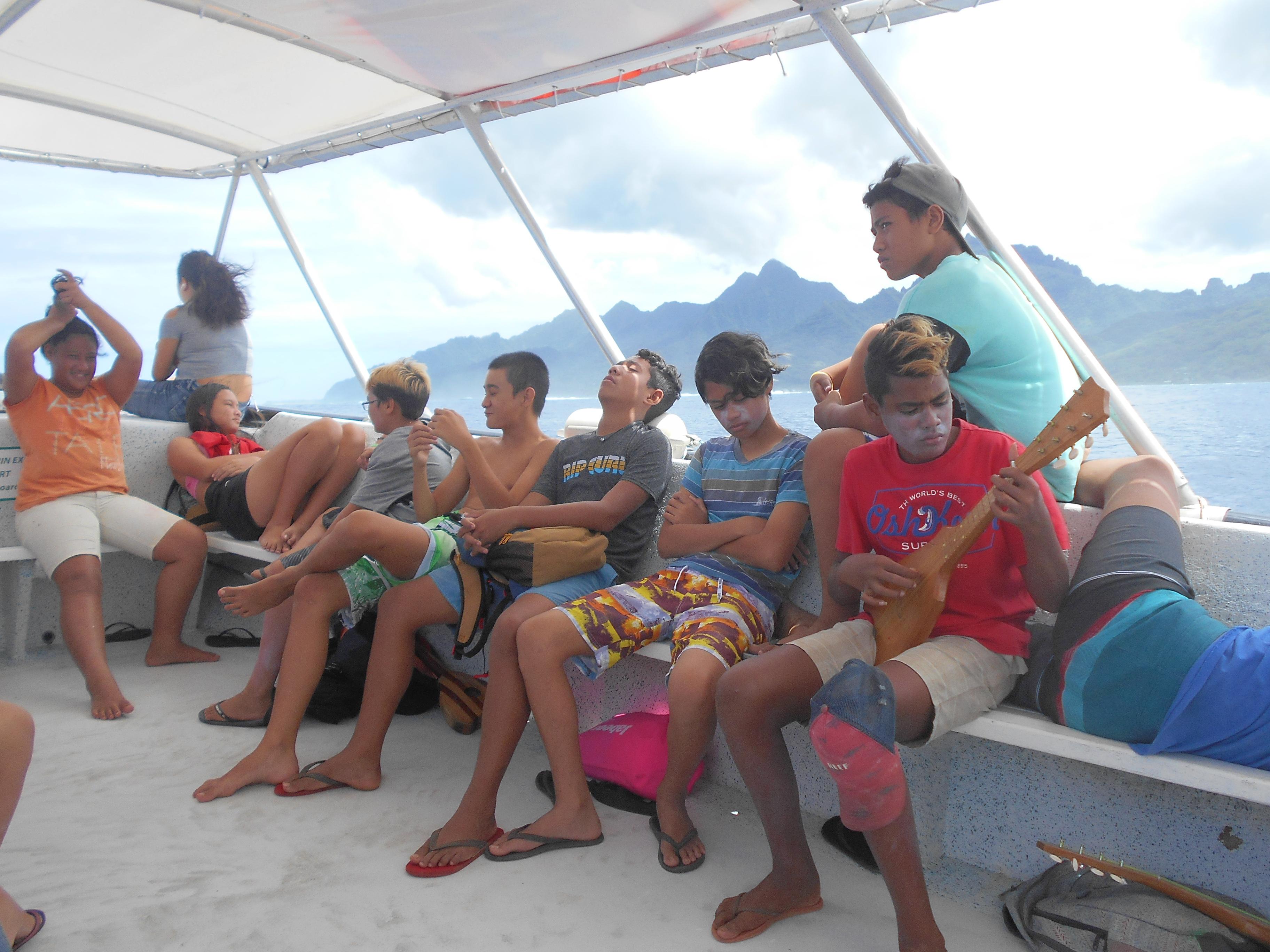 Des élèves de quatrième du collège de Afareaitu iront à Hawaii en 2020.