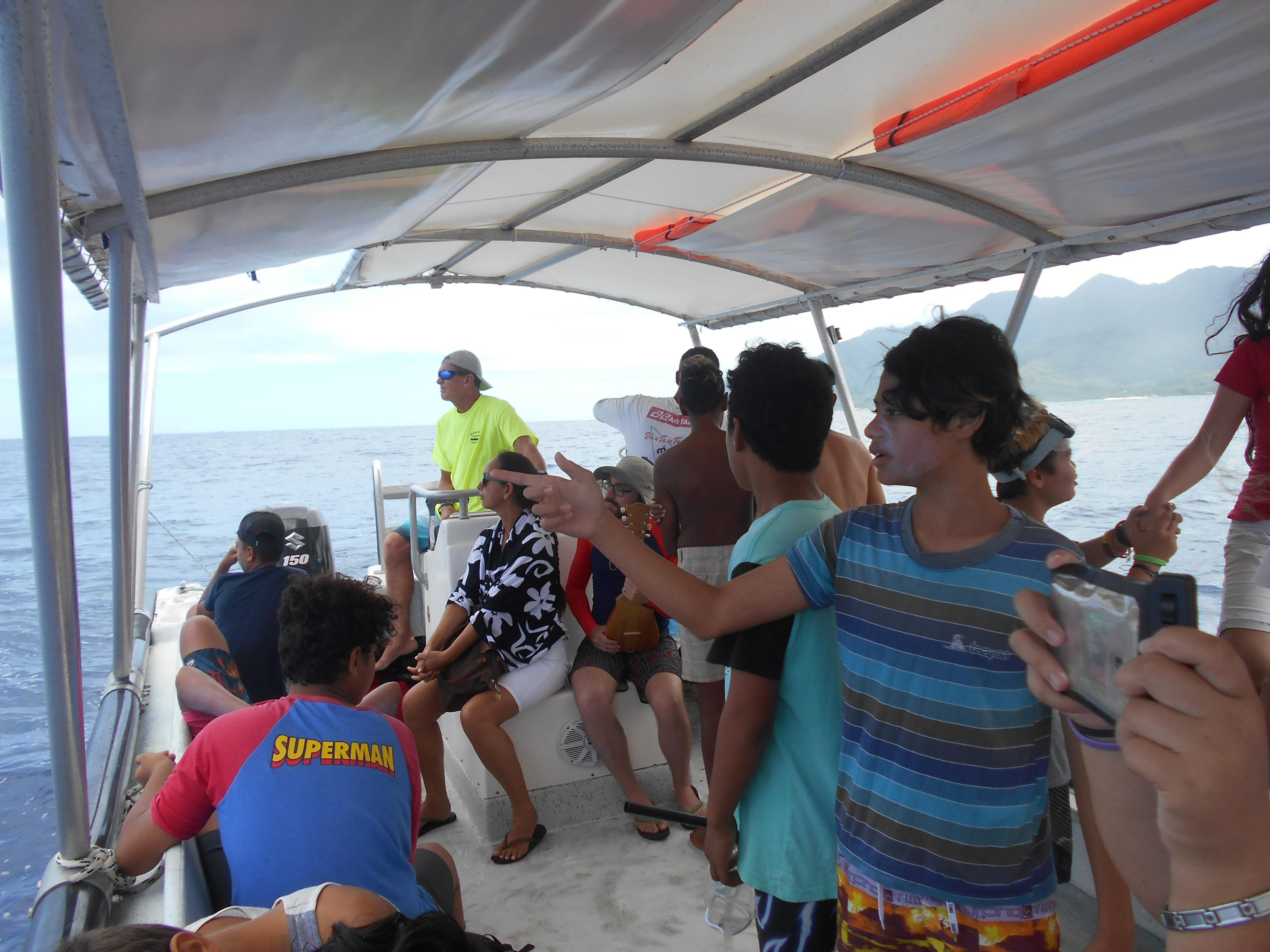 Après  les baleines, les élèves du collège de Afareaitu effectueront prochainement une visite à la clinique des tortues marines  à Haapiti.