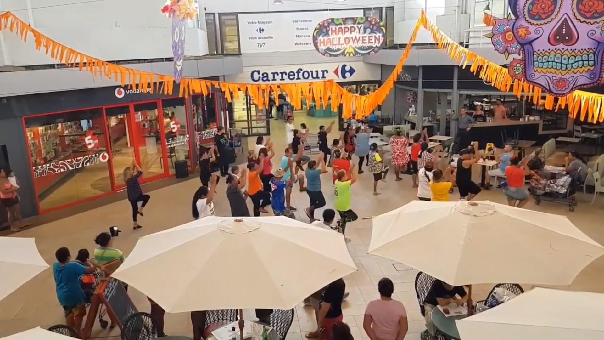 Une flash mob pour sensibiliser à l'AVC