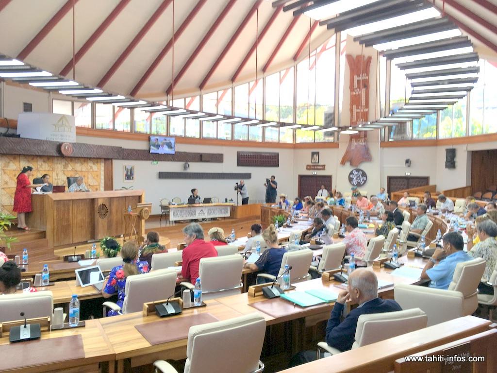 Les orientations budgétaires pour 2019 en débat à l'Assemblée