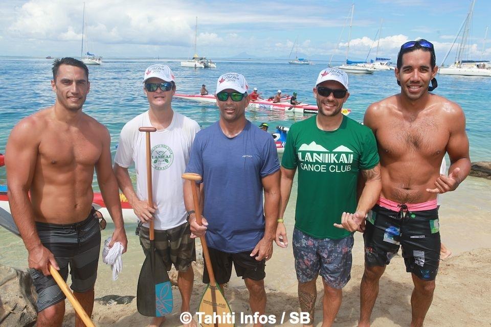 Le team Lanikai de Hawai'i