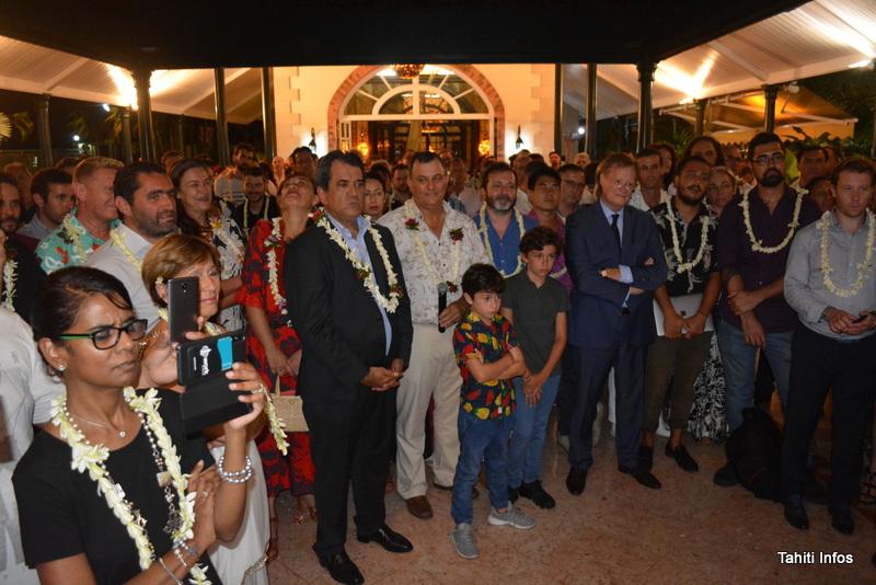 Le côté polynésien a pu discuter avec le ministre et présenter ses doléances, en particuliers les entrepreneurs présents.