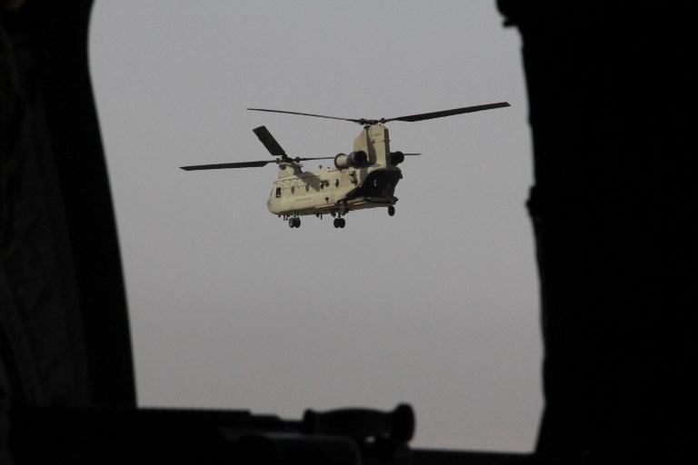 Afghanistan: crash d'un hélicoptère de l'armée, 25 tués