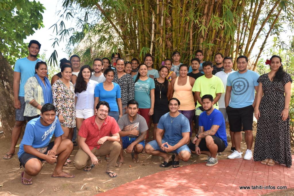 Service civique : accueil de 31 volontaires à Faa'a