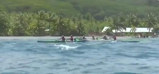 Hawaiki Nui Va'a: Tamarii CPS remporte la deuxième étape