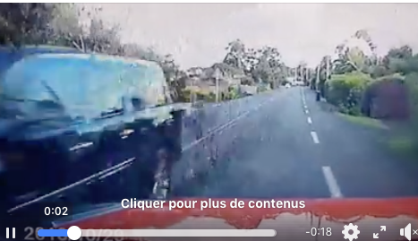 Paea: Vitesse excessive, dépassement dangereux, mise en danger d'autrui...véhicule confisqué