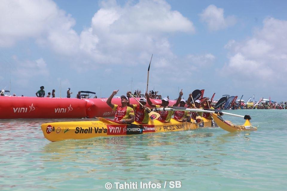 Shell Va'a a pu enfin renouer avec la victoire à Hawaiki Nui