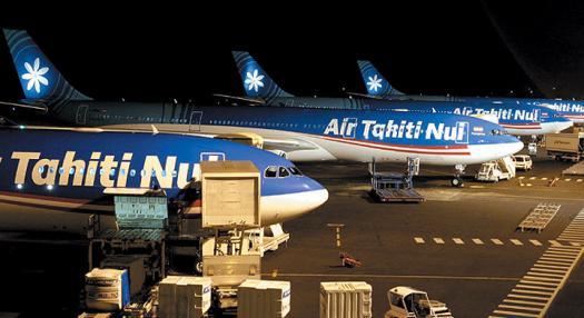 Du retard sur les vols Air Tahiti Nui