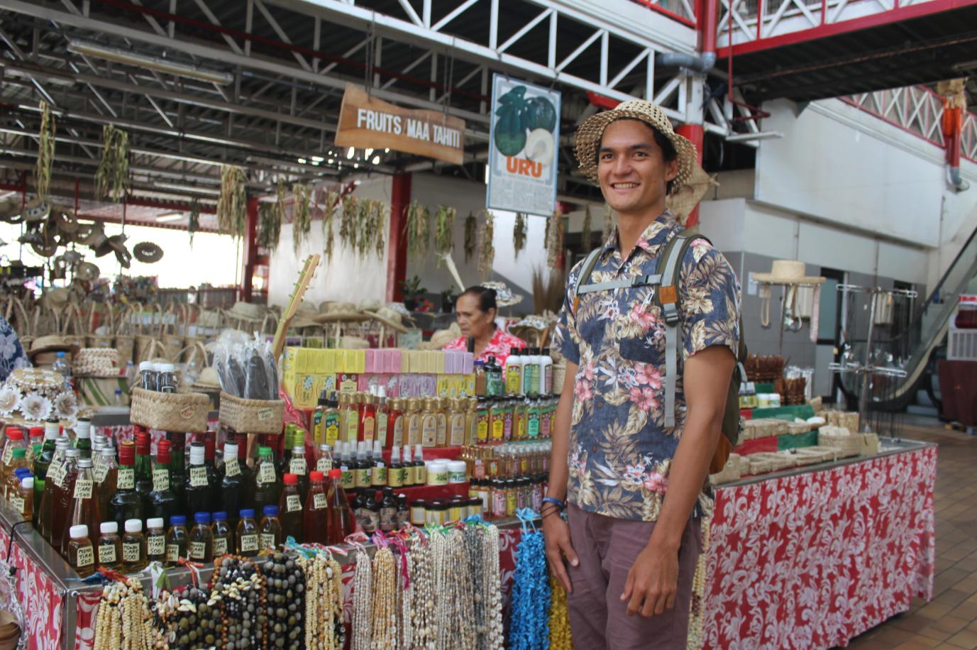 Tunui de Vals a lancé un site de vente de produits issus de l'artisanat polynésien.