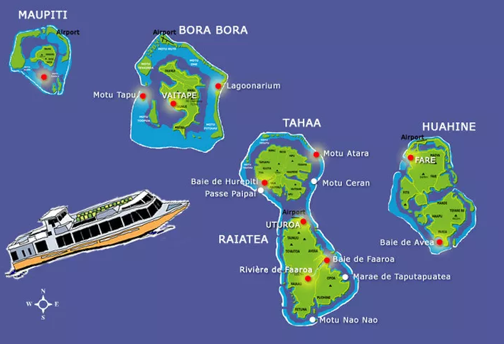 Îles Sous-Le-Vent : la mise en place d'un ferry à l'étude