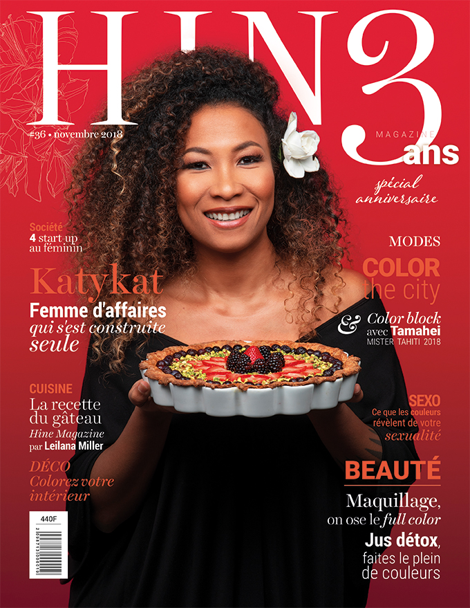 À la Une de Hine Magazine qui fête ses trois ans, Novembre 2018