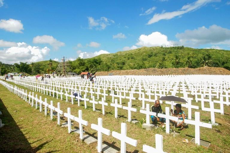Les Philippines commémorent le dévastateur typhon Haiyan, il y a cinq an