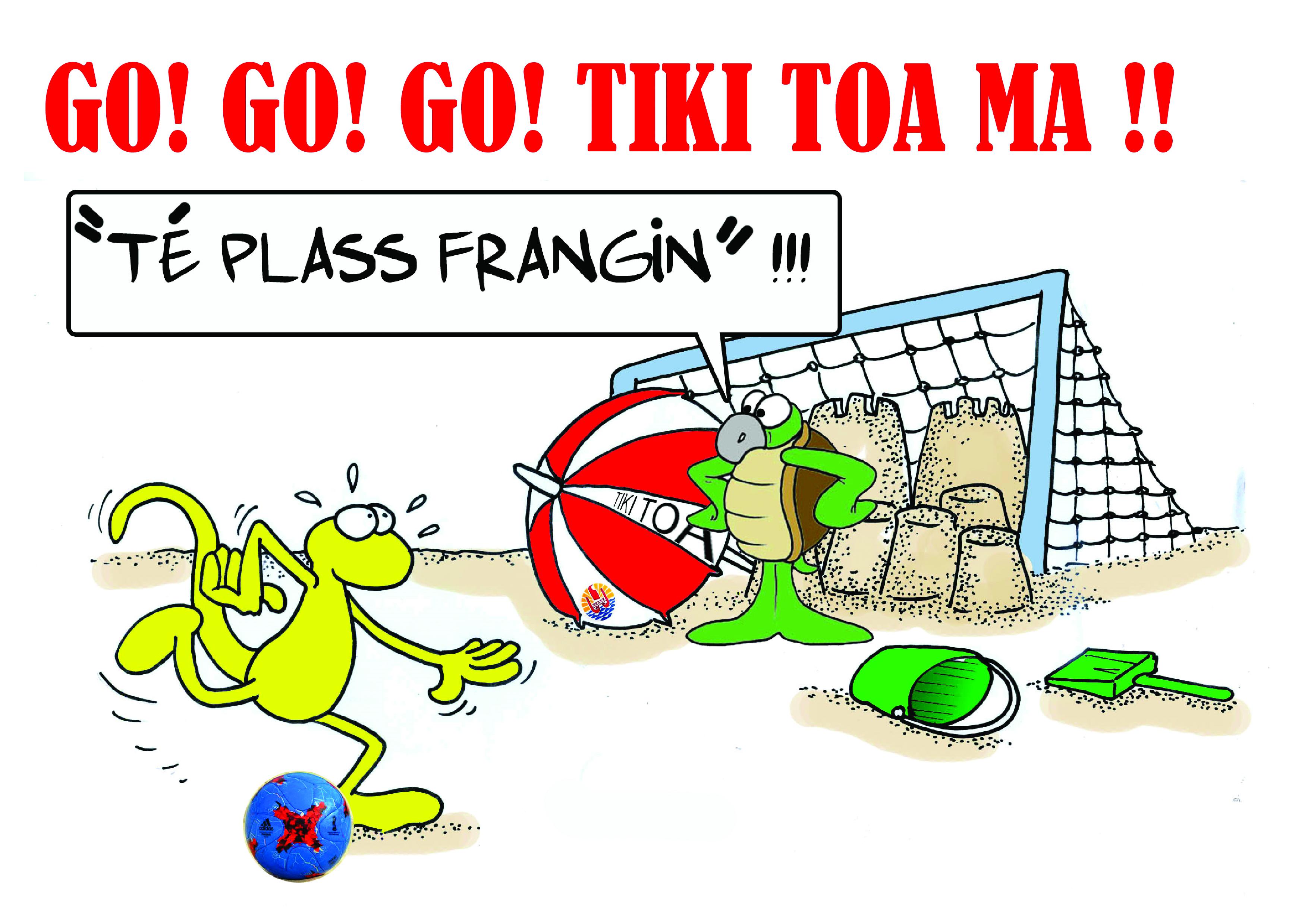 """"""" Les Tiki Toa à l'Intercontinental Cup ! """" par Munoz"""