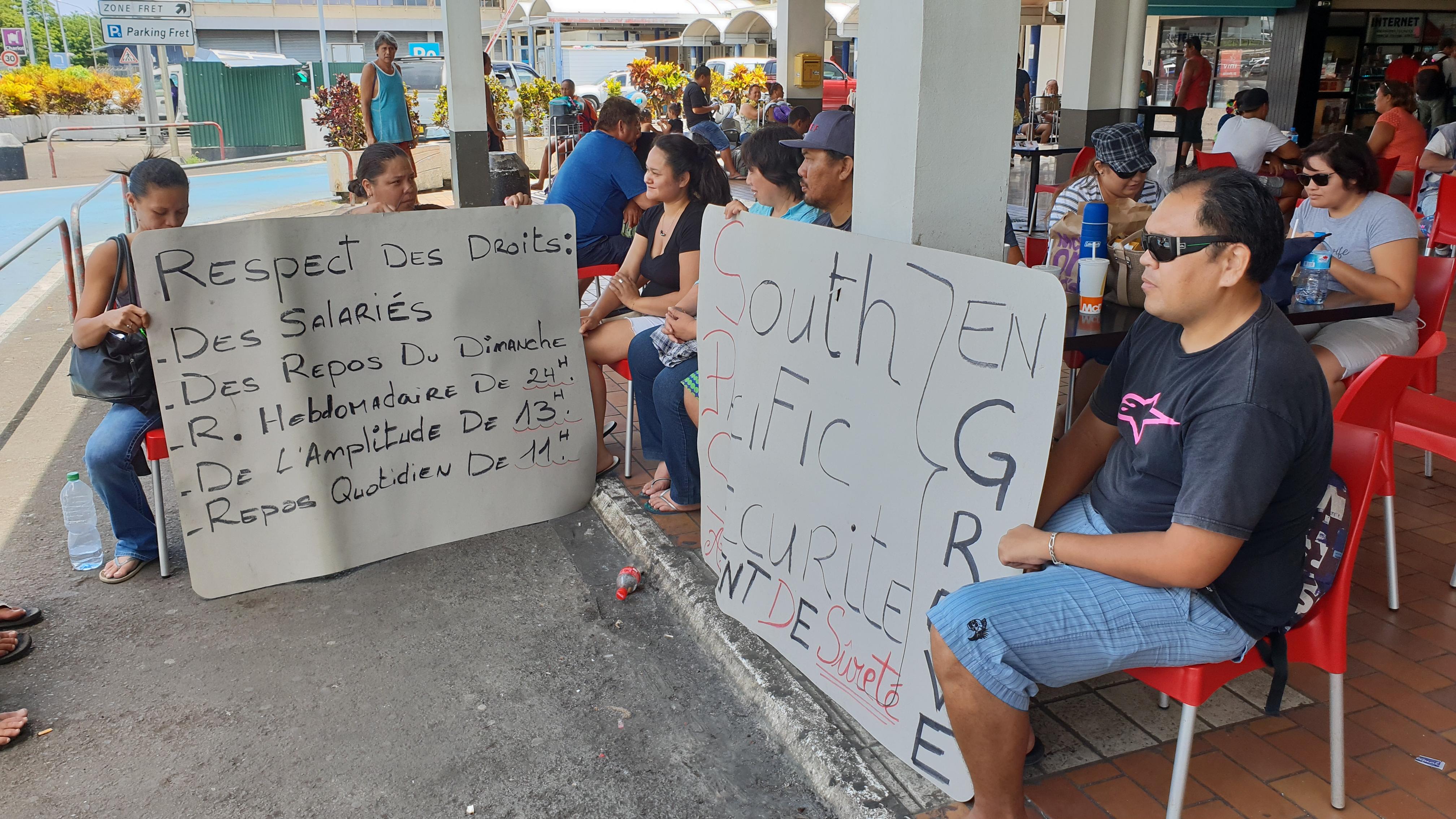 Fin de conflit à Tahiti Sûreté et à South Pacific Sécurité