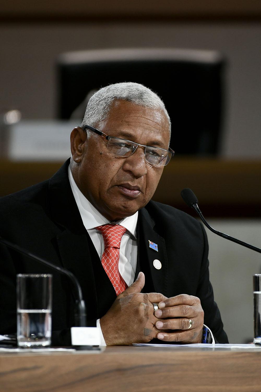 L'ex-putschiste Bainimarama favori des élections fidjiennes
