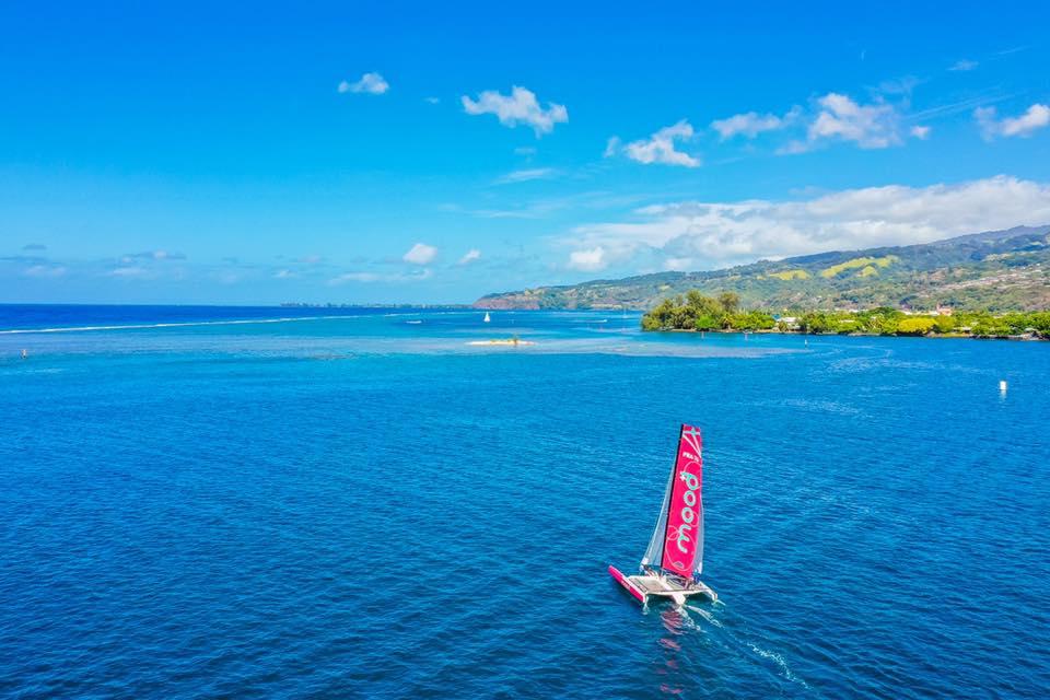 La Polynésie se prête aux sports nautiques