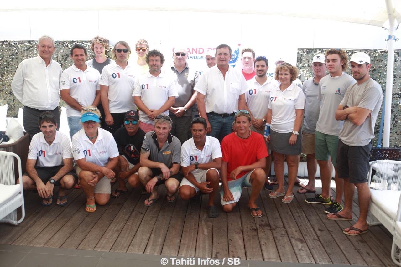 Les skippers ont été présentés lors de la conférence de presse