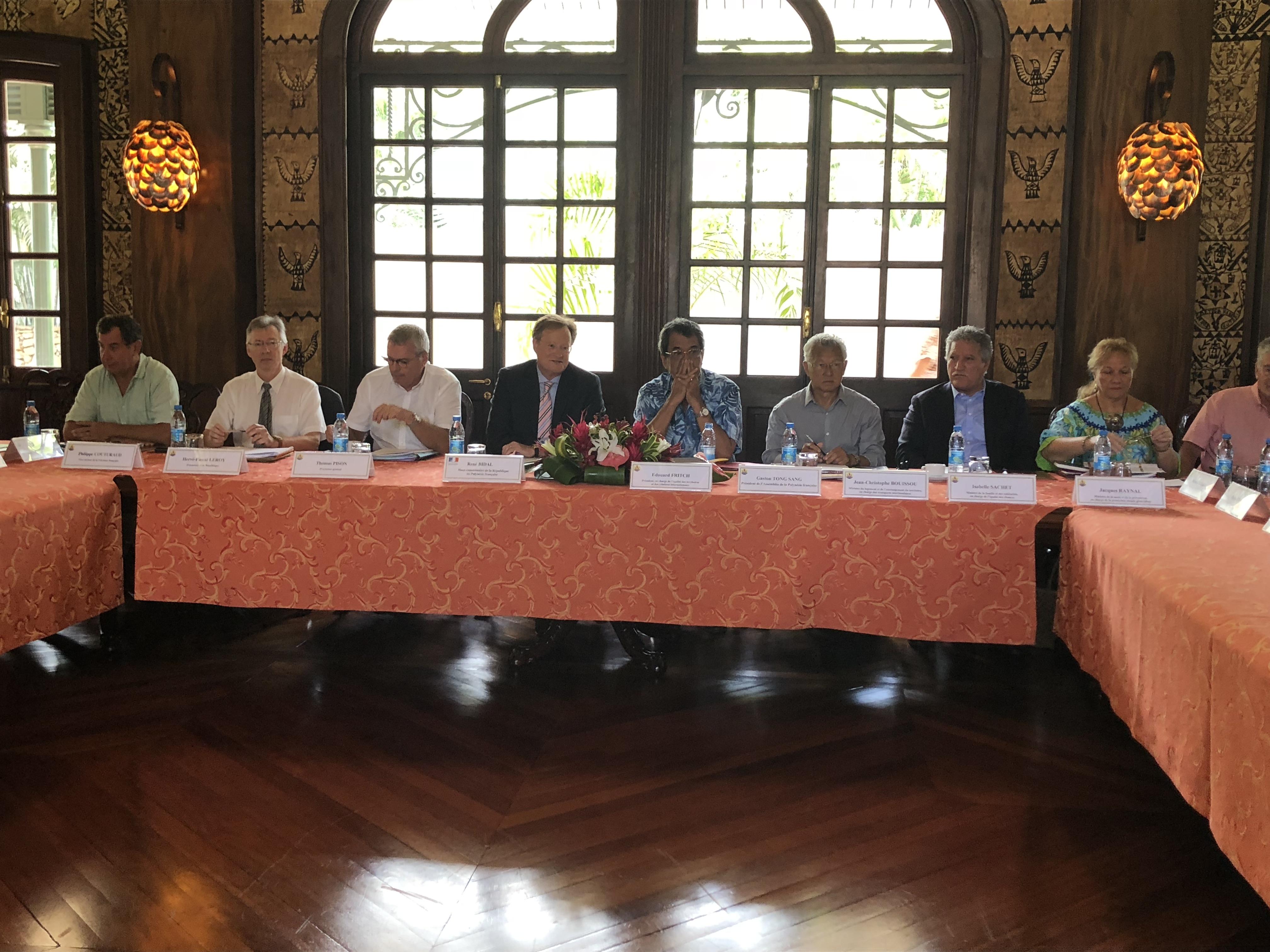 C'est la quatrième fois que le conseil de prévention de la délinquance en Polynésie française se réuni. Il existe depuis 2016.