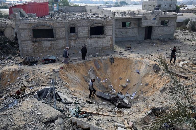 Un Palestinien tué par des tirs israéliens à la frontière