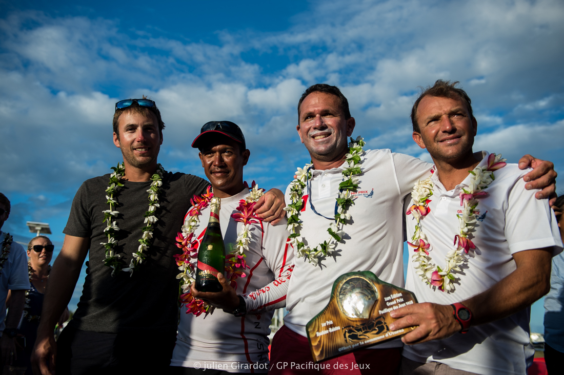 Trésors de Tahiti s'impose sur la troisième étape