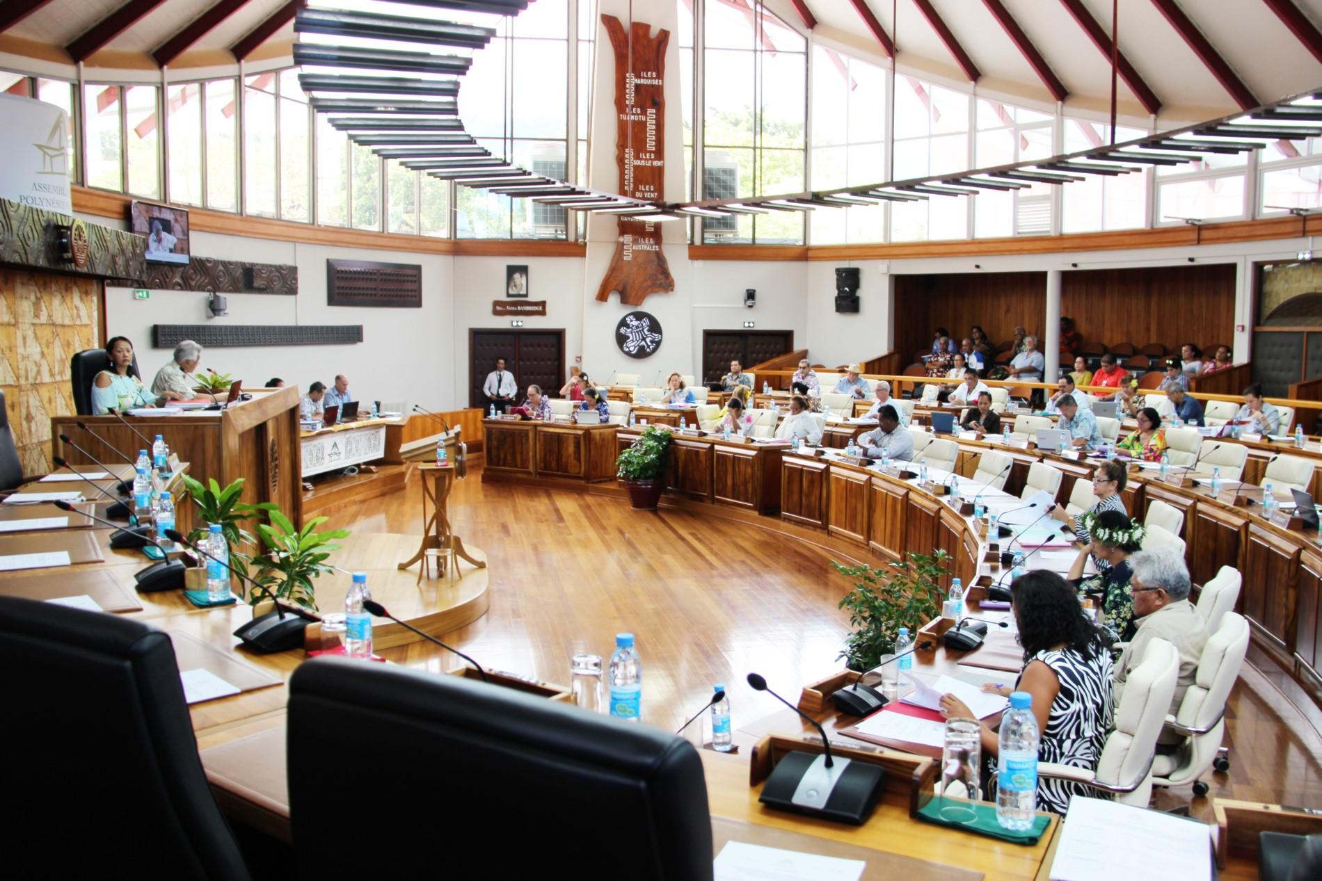 Le Tavini et le Tahoera'a défavorables au projet de loi organique (direct)