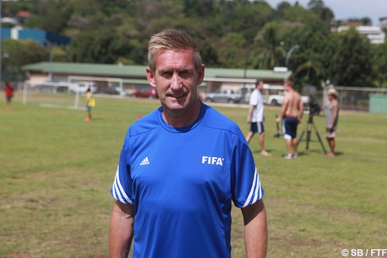 Jamie Houchen, de la Fifa