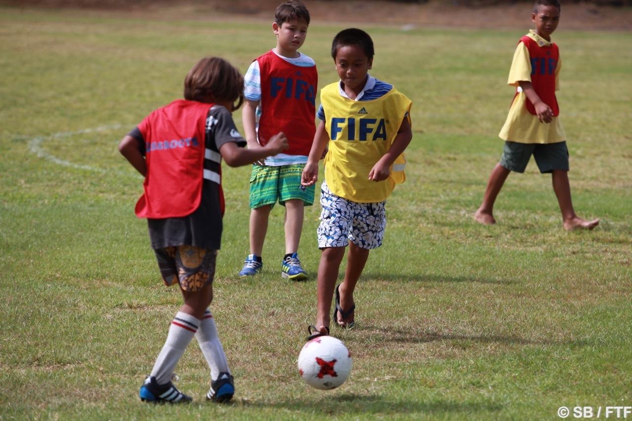 Football - Programme de formation : La Fifa tourne à Tahiti