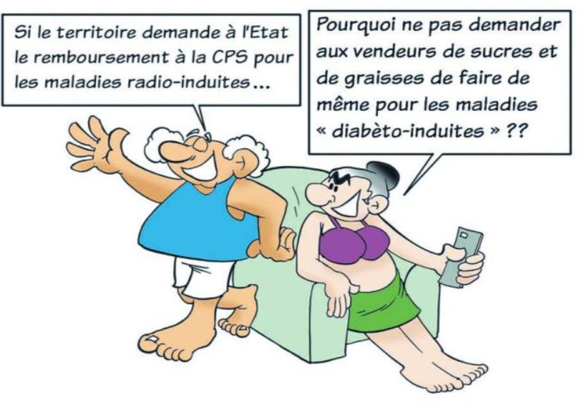 """"""" Prévention du diabète """" vu par Munoz"""