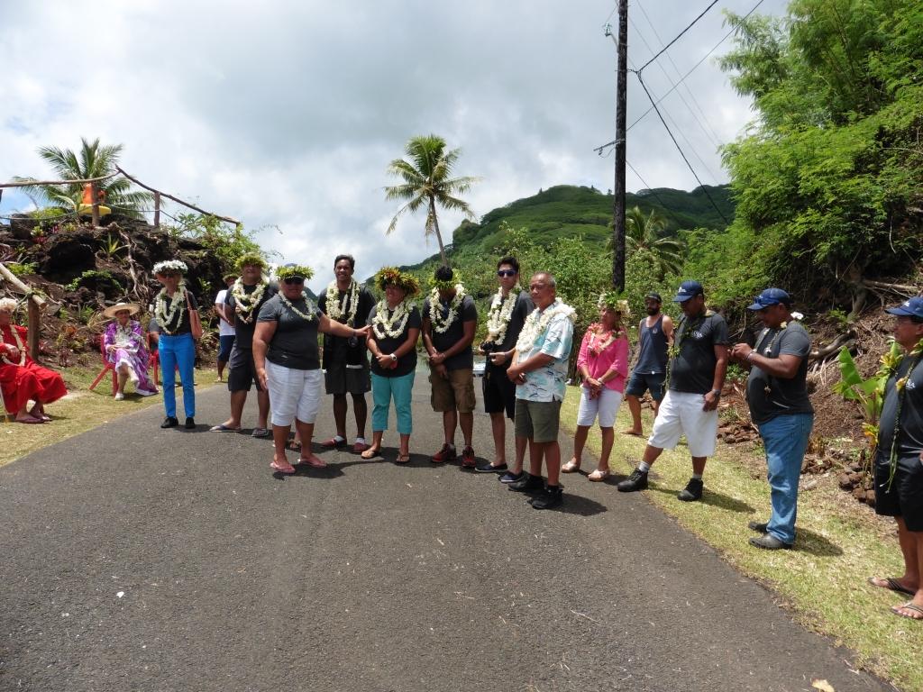 Les membres du jury se sont rendus à Huahine en début de semaine.