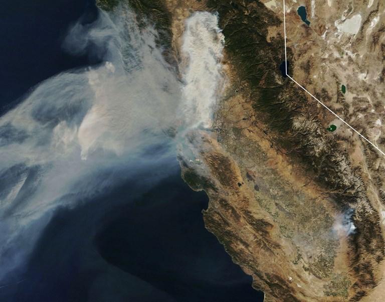 Incendies: les recherches continuent, San Francisco suffoque