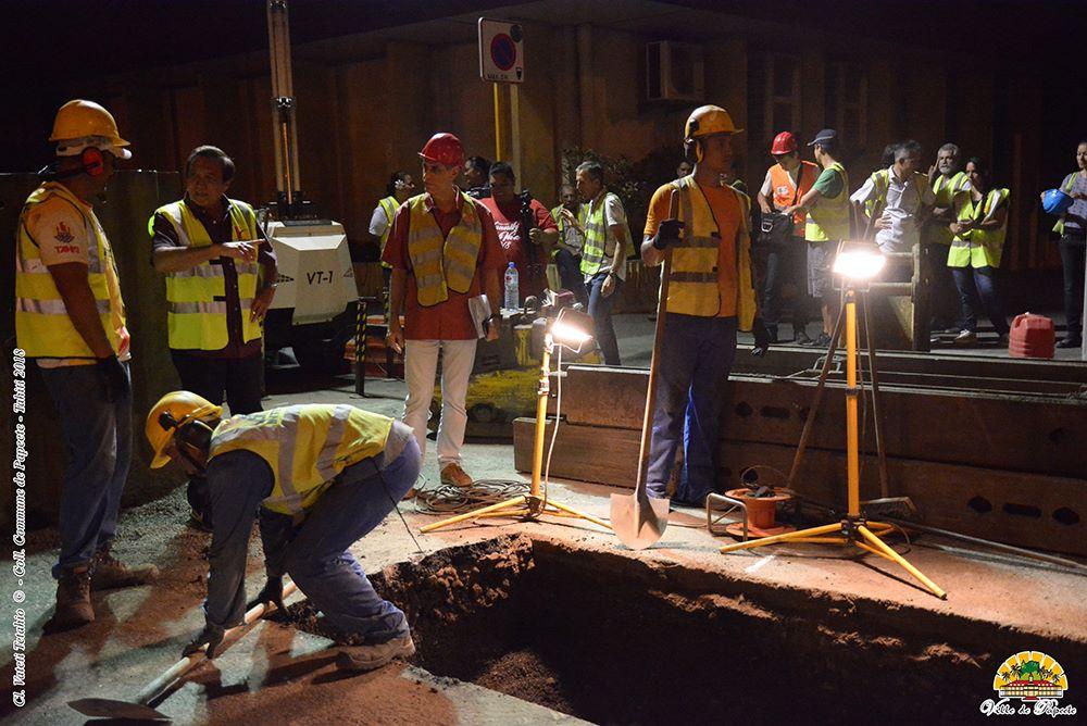 Le maire de Papeete a visité ces chantiers jeudi soir.